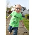 Kids Robot in Glasses Shirt