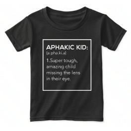 """""""Aphakic Kid"""" t-shirt"""