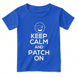 Keep Calm and Patch on kid t-shirt