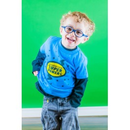 TODDLER/ YOUTH My Glasses Give Me Super Powers clearance